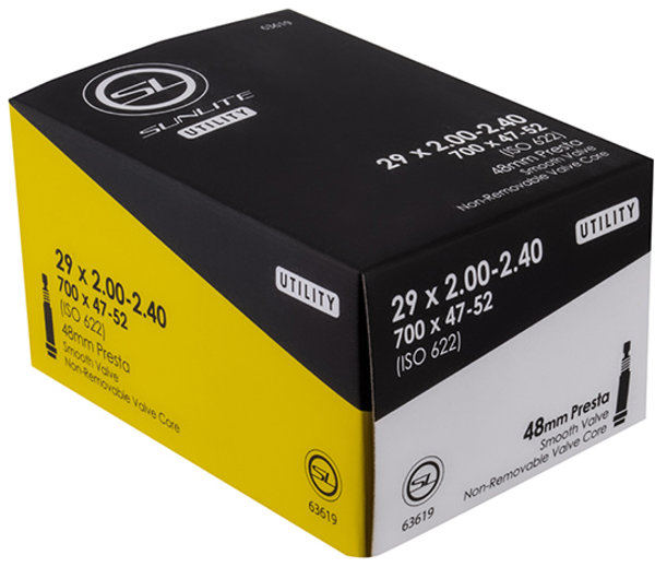 Sunlite Utili-T Standard Presta Valve Tube 29 x 2.0-2.4