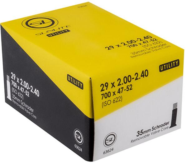 Sunlite Utili-T Standard Schrader Valve Tube 29-inch