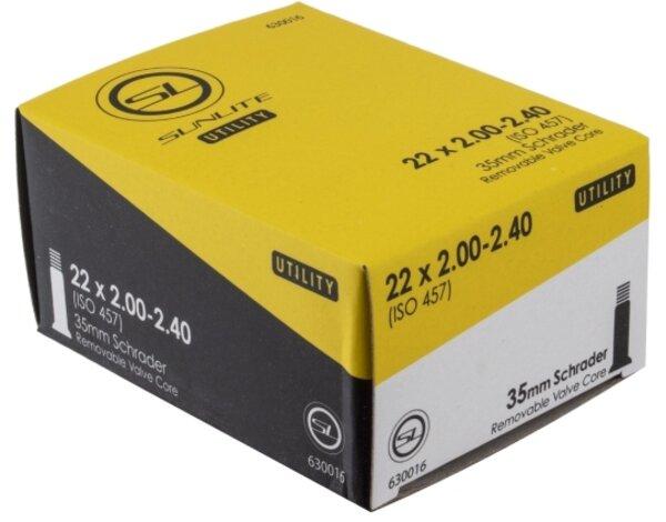 Sunlite Utili-T Standard Schrader Valve Tube 20-inch