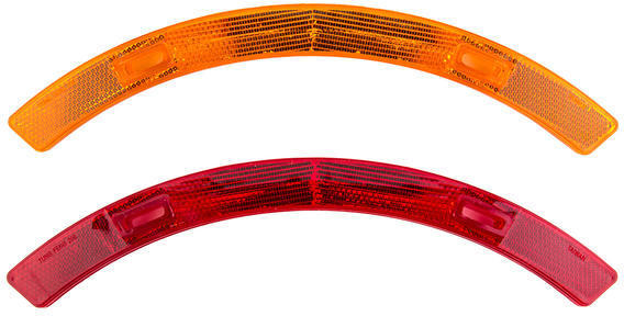 Sunlite Wheel Reflector Set Color | Size: Red/Yellow | Long
