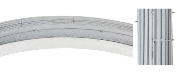 Sunlite Wheelchair Tire (24-inch) Size: 24 x 1 1/4 (ISO 547)