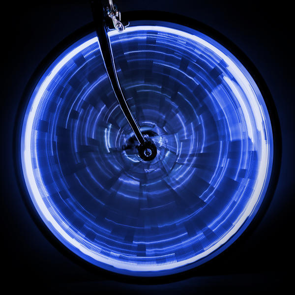 Sunlite WheelGlow Wheel Light Color: Blue