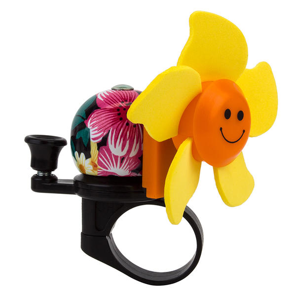 Sunlite Windmill Bell Color: Pink/Yellow