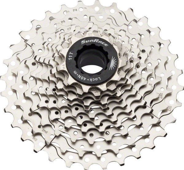 SunRace RS3 11-Speed Cassette Color: Silver
