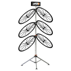 Super B Wheel Display Stand
