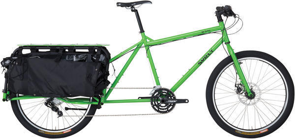 Surly Big Dummy Color: Soil Ant Green