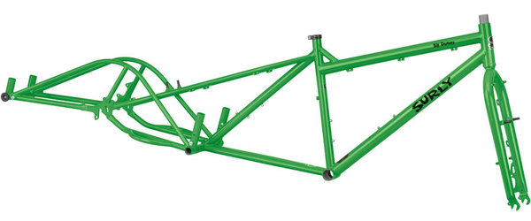 Surly Big Dummy Frameset Color: Soil Ant Green