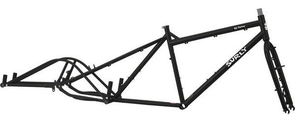 Surly Big Dummy Frameset Color: Blacktacular