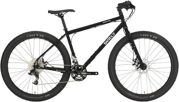 Surly Bridge Club 27.5 2x Color: Dark Black