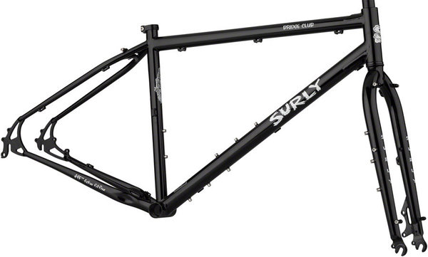 Surly Bridge Club Frameset Color: Dark Black