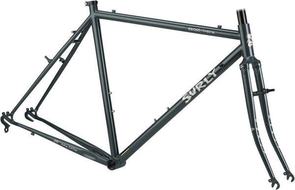 Surly Cross Check Frameset Color: Urban DeGray