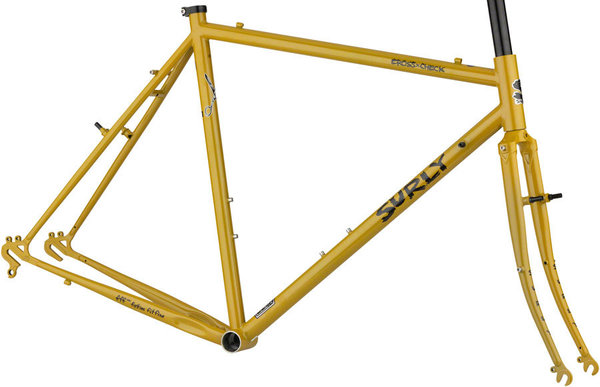 Surly Cross Check Frameset Color: Stoned Ground Mustard