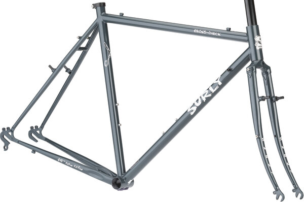 Surly Cross Check Frameset Color: BlueGreenGray
