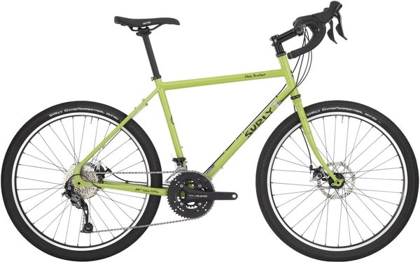 Surly Disc Trucker 26-inch Color: Pea Lime Soup