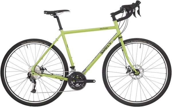 Surly Disc Trucker 700c Color: Pea Lime Soup