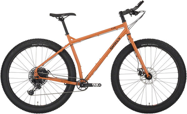 Surly ECR 29+ Color: Norwegian Cheese Brown