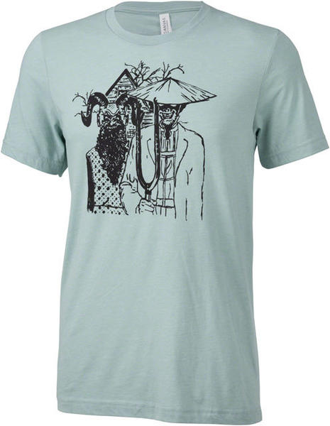 Surly Gothic T-Shirt Color: Dusty Blue