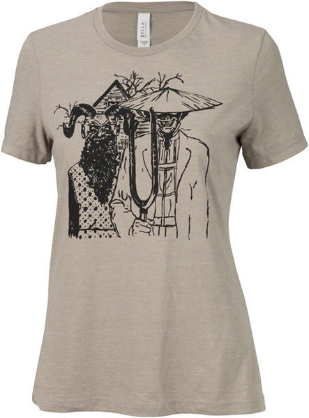 Surly Gothic Women's T-Shirt Color: Stone