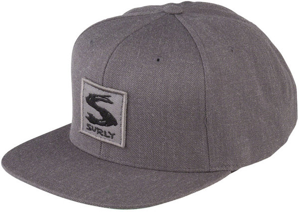 Surly Grey Area Snap Back Hat Color: Gray
