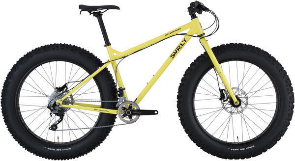 Surly Ice Cream Truck Color: Banana Candy Yellow
