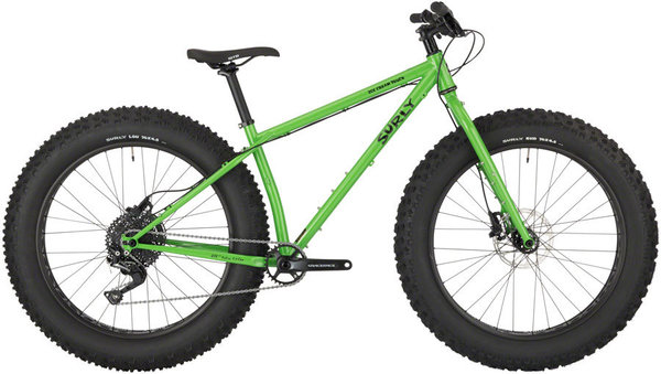 Surly Ice Cream Truck Color: Plutonium Sparkle Green