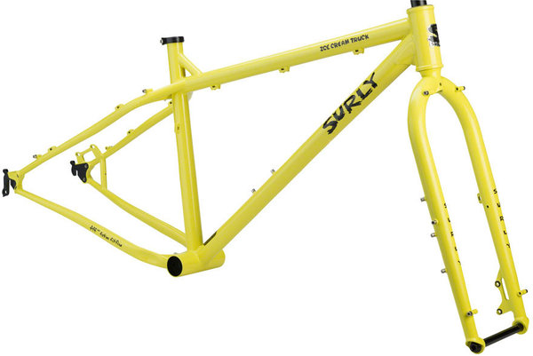 Surly Ice Cream Truck Frameset Color: Banana Candy Yellow