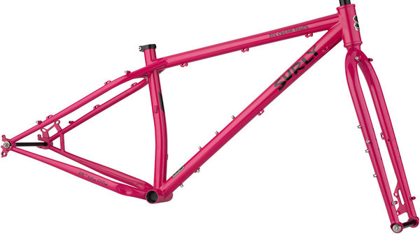 Surly Ice Cream Truck Frameset Color: Prickly Pear Sparkle