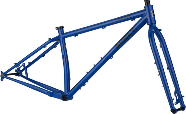 Surly Karate Monkey Frameset Color: Blue Porta Potty