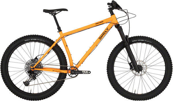 Surly Karate Monkey Front Suspension Color: Toxic Tangerine