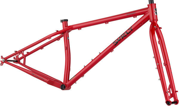 Surly Krampus Frameset Color: Andy's Apple Red