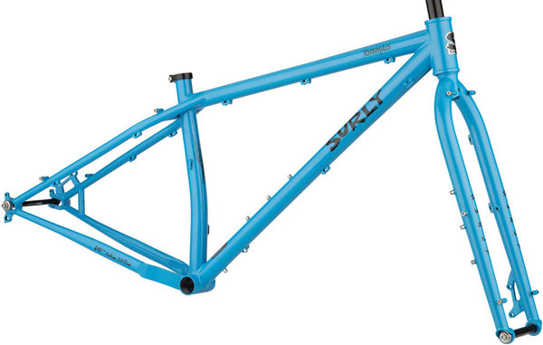Surly Krampus Frameset Color: Tangled Up in Blue