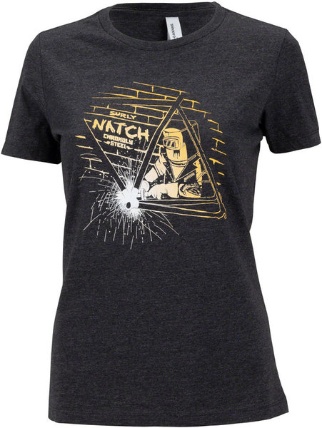 Surly Natch T-Shirt Color: Black w/White Text