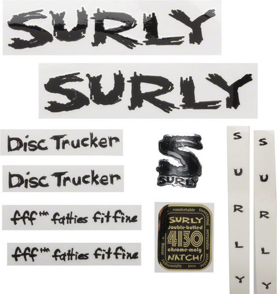 Surly Disc Trucker Decal Set