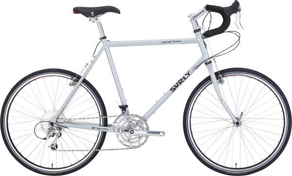 Surly Long Haul Trucker (26-inch) Color: Smog-Geriffic Silver