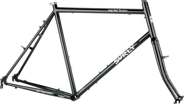 Surly Long Haul Trucker Frameset Color: Blacktacular