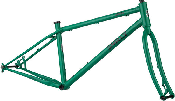 Surly Lowside Frameset Color: Astro Green