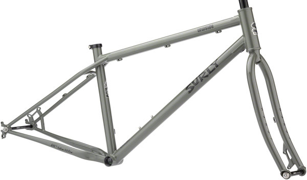 Surly Lowside Frameset Color: Stray Hair Gray