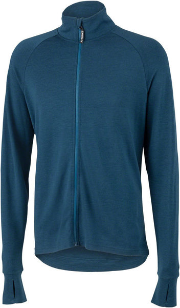 Surly Merino Long Sleeve Jersey Color: Navy