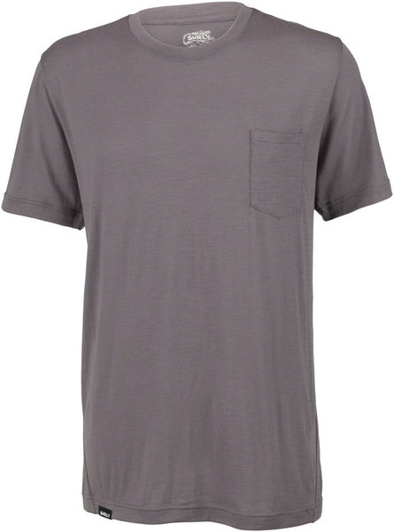 Surly Merino Pocket T-Shirt Color: Gray