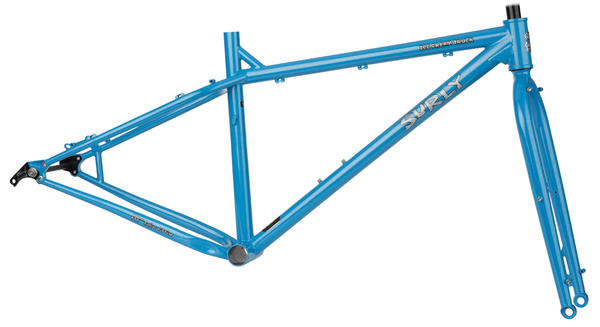 Surly Ice Cream Truck Frameset Color: Jack Frost Blue