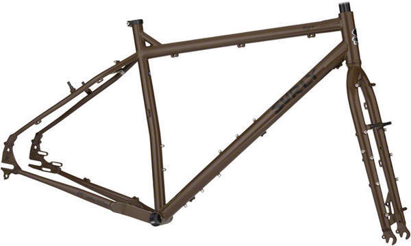 Surly Ogre Frameset Color: Rover Brown