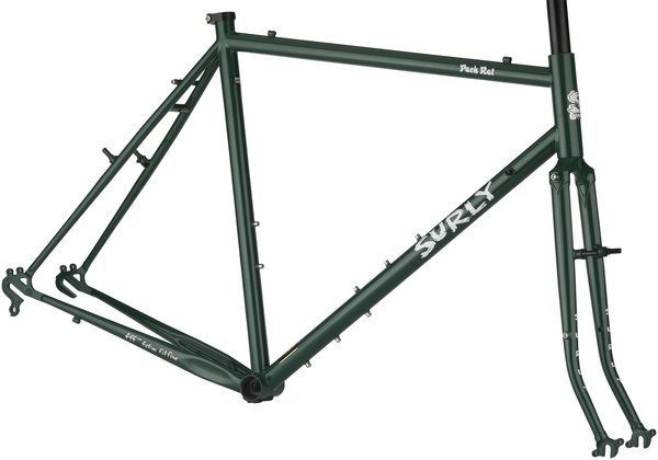 Surly Pack Rat Frameset Color: Get In Green