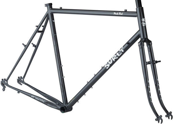 Surly Pack Rat Frameset Color: Gray Haze