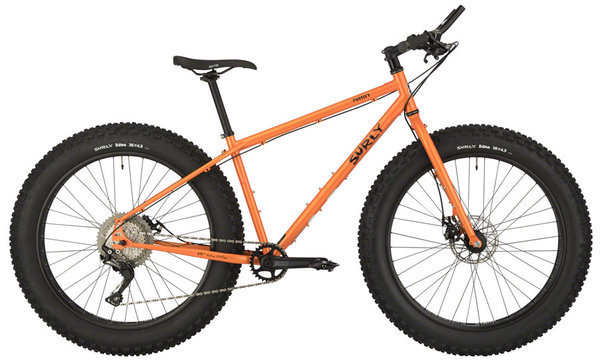 Surly Pugsley Color: Candied Yam Orange