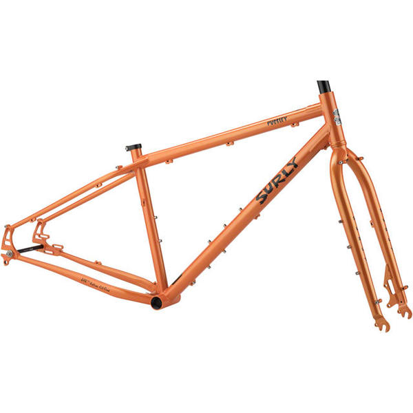 Surly Pugsley Frameset Color: Orange