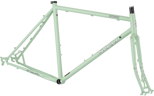 Surly Straggler 650b Frameset Color: Mint Green