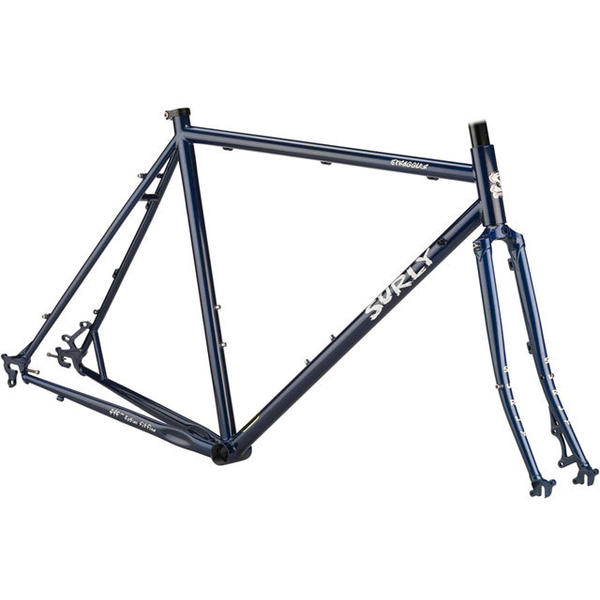 Surly Straggler 700c Frameset Color: Blueberry Muffin Top