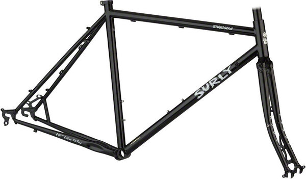 Surly Straggler 650b Frameset Color: Black