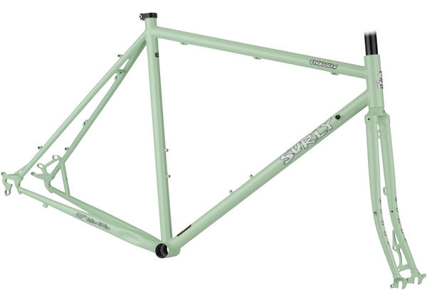 Surly Straggler Frameset Color: Mint Green
