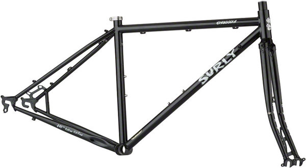 Surly Straggler Frameset Color: Black